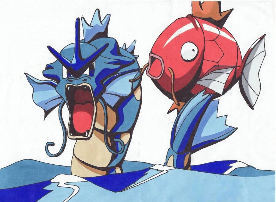 magikarp and gyarados