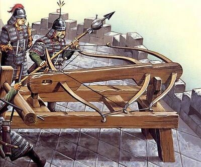 crossbow invented by the Chinese