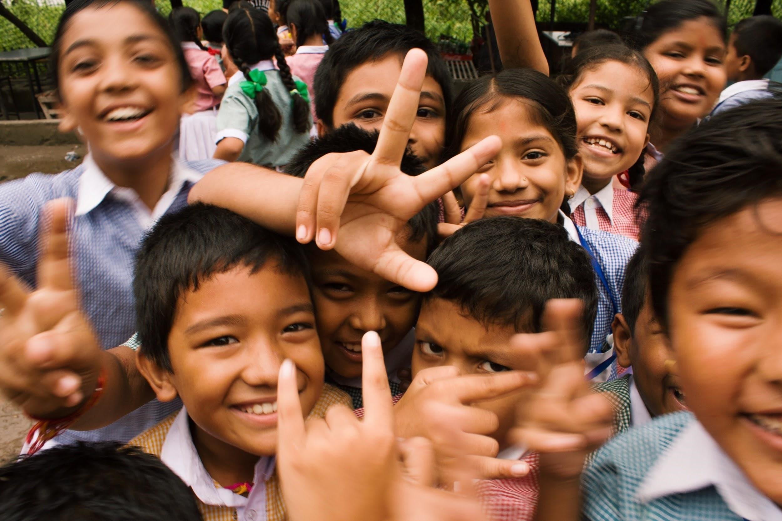 Kids in Thailand