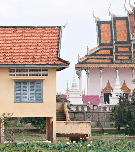 School building in Cambodia