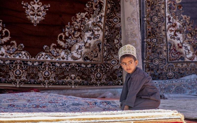 Child in Oman