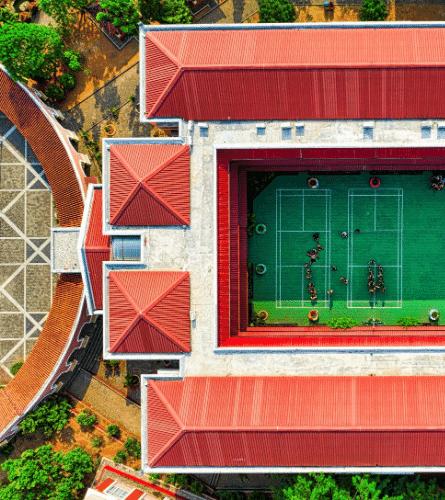 Indonesian School Building