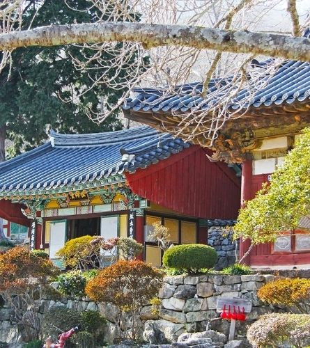 Traditional house in South Korea
