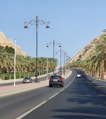 road in Muscat