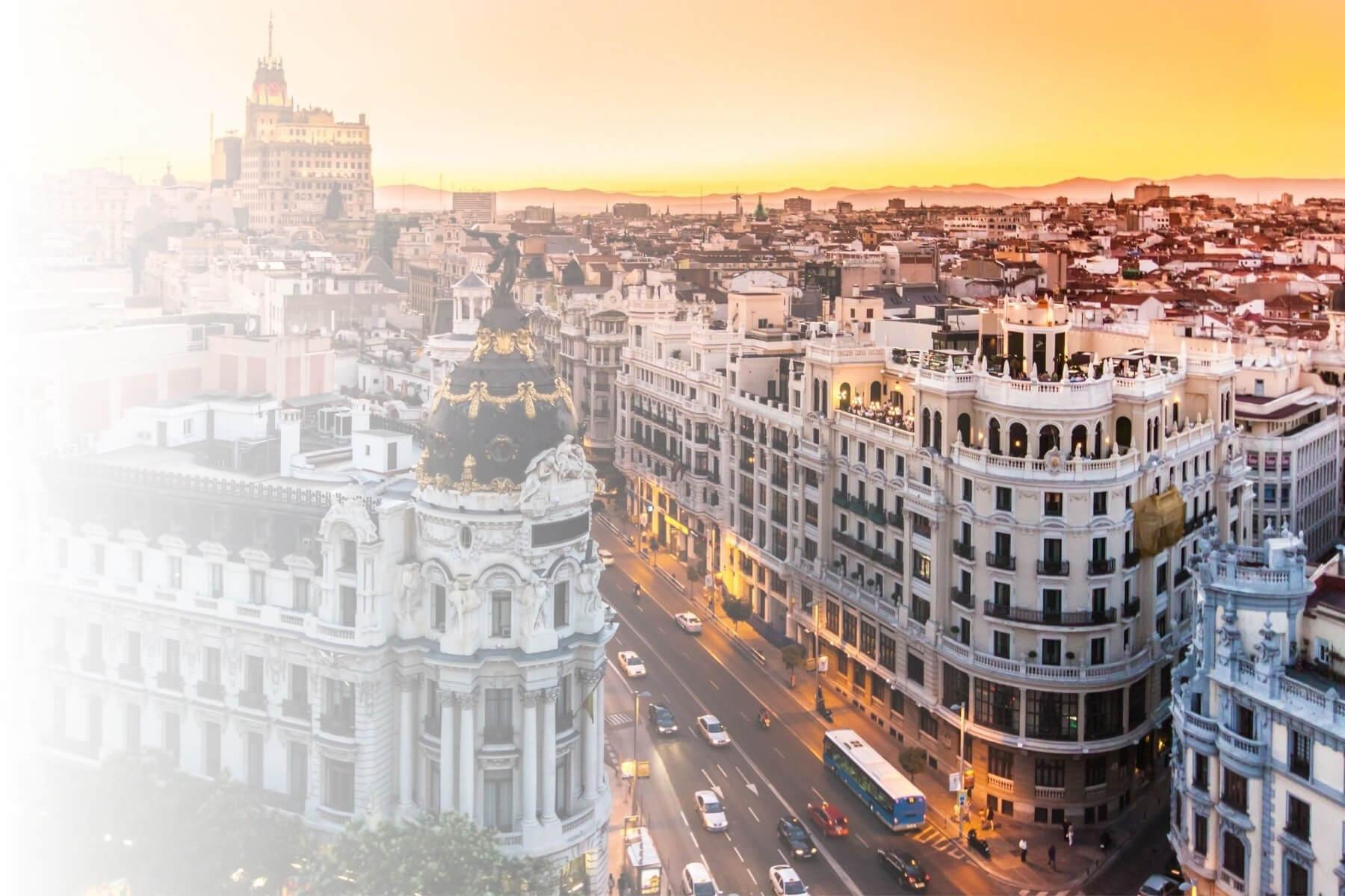 Gran via, Madrid