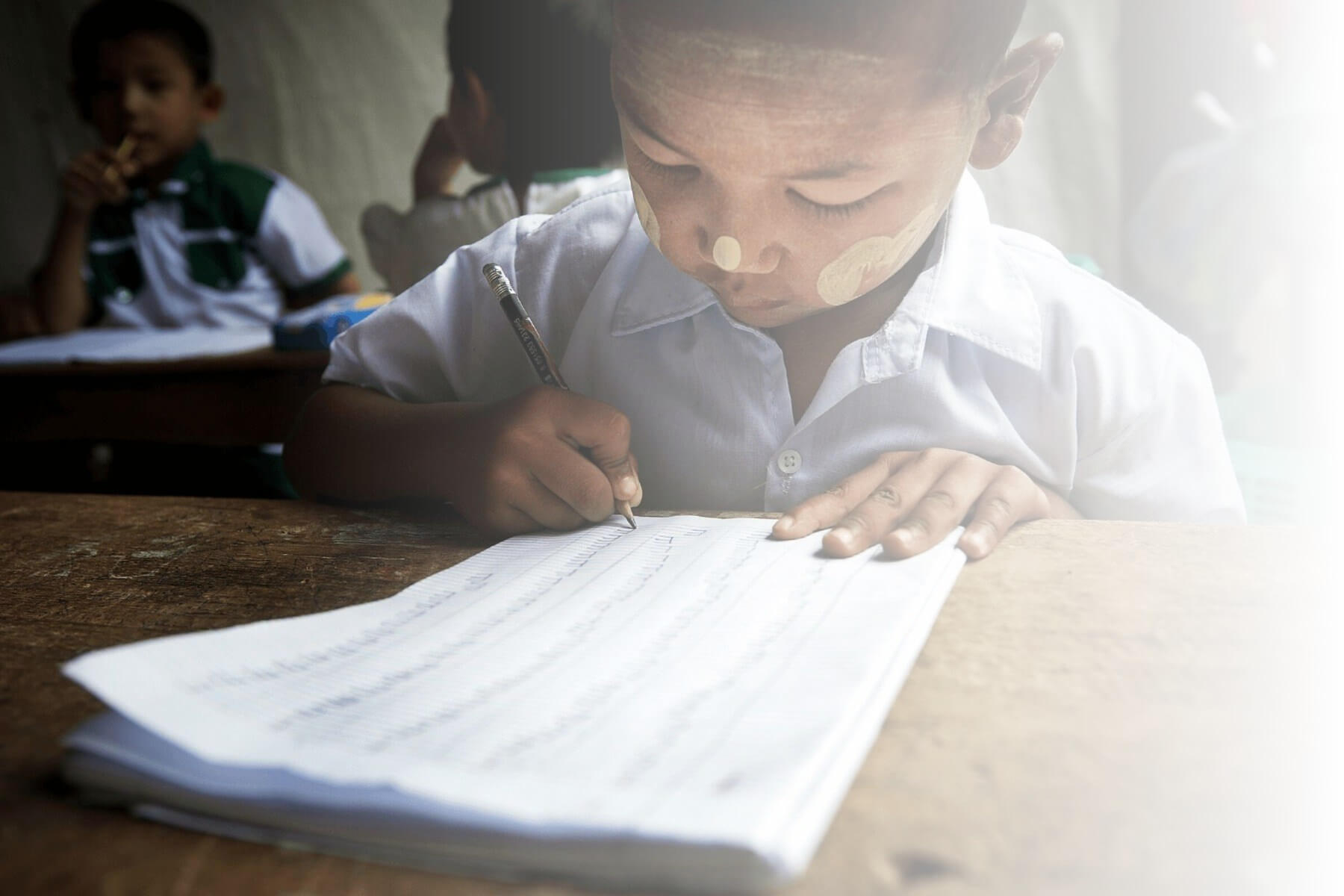 Student in Myanmar