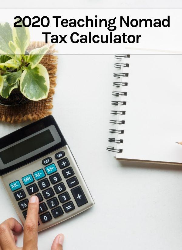 2020 Tax Calculator Thumbnail