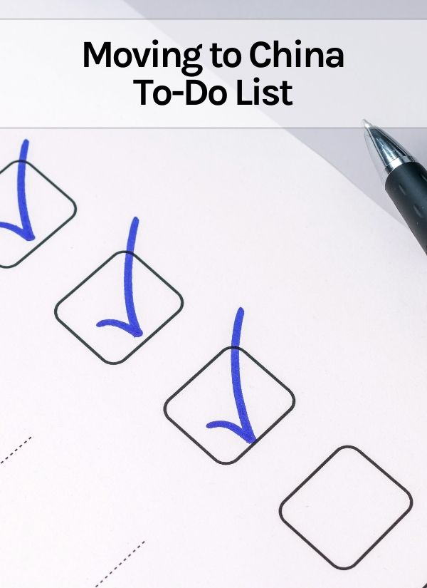 Moving to China To-Do List Thumbnail