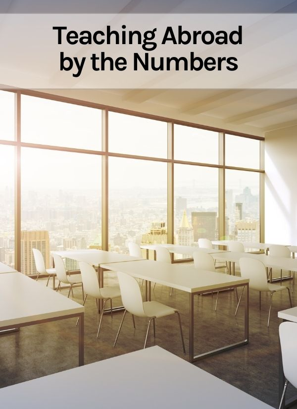 Teaching Abroad by the Numbers Thumbnail